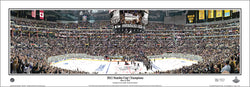 "LA Kings ""Raise the Cup"" 2012 Stanley Cup Panoramic Poster Print - Everlasting"