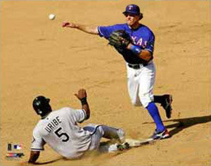"Ian Kinsler ""Turn 2"" - Photofile 16x20"