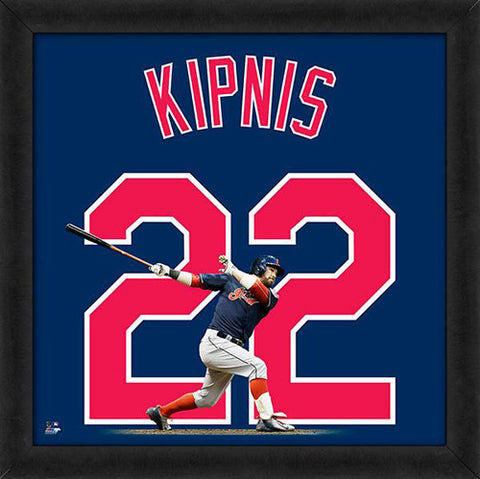 "Jason Kipnis ""Number 22"" Cleveland Indians FRAMED 20x20 UNIFRAME PRINT - Photofile"