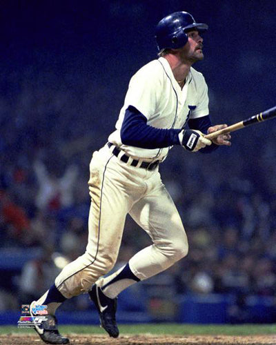 Kirk Gibson Detroit Tigers 1984 World Series Blast Premium Poster Print - Photofile Inc.