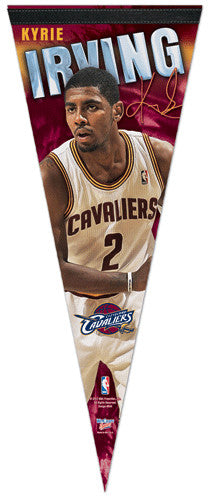 "Kyrie Irving ""Signature"" Premium Felt Pennant Collector's Pennant - Wincraft 2012"