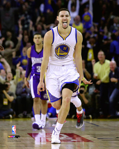 "Klay Thompson ""Golden State Superstar"" (2015) Premium Poster Print - Photofile 16x20"
