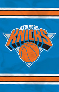 New York Knicks Premium NBA Applique Banner Flag - Party Animal