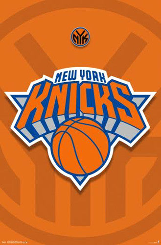 New York Knicks NBA Basketball Official Team Logo Poster - Costacos 2014