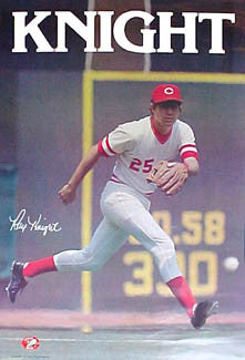 "Ray Knight ""Signature '80"" Cincinnati Reds Vintage Original Poster"