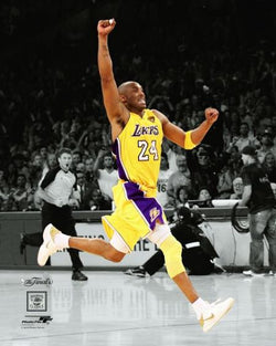 "Kobe Bryant ""Championship Sprint"" Los Angeles Lakers Classic Premium NBA Poster Print - Photofile 20x24"