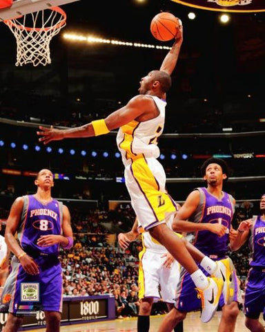 "Kobe Bryant ""Wild in White"" (2010) L.A. Lakers Premium Poster Print - Photofile 20x24"