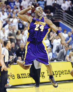 "Kobe Bryant ""Joy"" (2009) L.A. Lakers Premium Poster Print - Photofile 16x20"