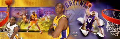 Kobe Bryant L.A. Lakers Photorama Collage Premium Poster Print - Photofile Inc.