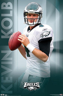 "Kevin Kolb ""Action"" Philadelphia Eagles Poster - Costacos 2010"