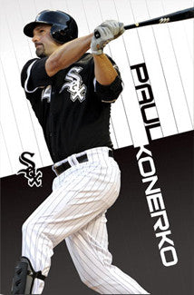 "Paul Konerko ""Sweet Swing"" Chicago White Sox Poster - Costacos 2011"