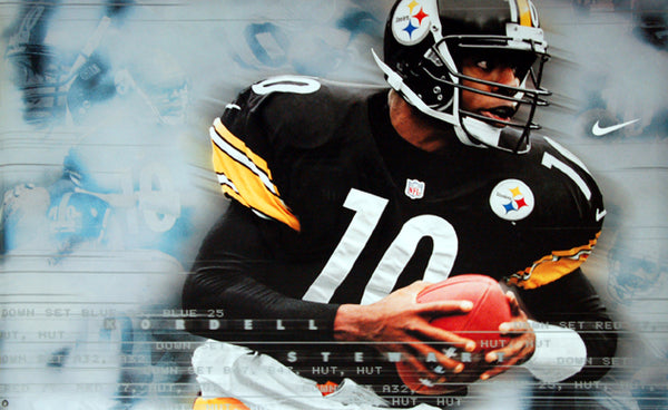 "Kordell Stewart ""Slash"" Pittsburgh Steelers Poster - Nike Inc. 1999"
