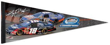 Kyle Busch 2009 NASCAR Nationwide Champion Premium Felt Collector's Pennant - Wincraft