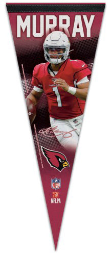 Kyler Murray Signature Series QB Action Arizona Cardinals NFL Football Premium Felt Pennant - Wincraft 2019
