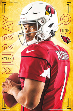 "Kyler Murray ""Superstar"" Arizona Cardinals QB NFL Football Poster - Trends International"