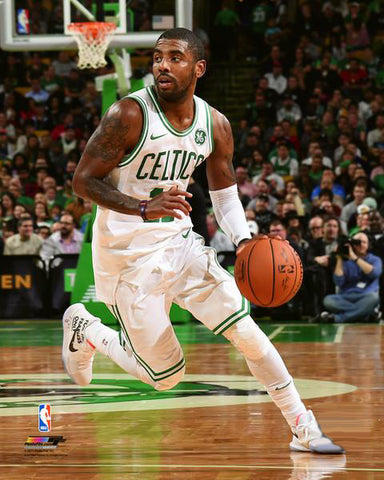 "Kyrie Irving ""Superstar"" Boston Celtics Premium NBA Action Poster Print - Photofile 16x20"
