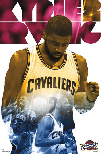 "Kyrie Irving ""Superstar"" Cleveland Cavaliers Official NBA Poster - Trends International 2016"