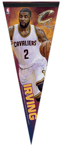 "Kyrie Irving ""Signature Action"" Cleveland Cavaliers Premium Felt Collector's Pennant - Wincraft Inc."