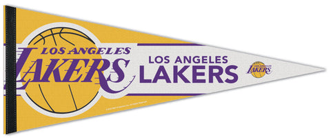 Los Angeles Lakers Official NBA Basketball Team Premium Felt Pennant - Wincraft 2019