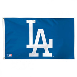 Los Angeles Dodgers Official MLB Baseball 3'x5' Deluxe-Edition Team Flag - Wincraft Inc.
