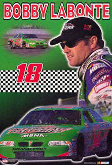 "Bobby Labonte ""Superstar"" NASCAR Poster - Starline 2000"