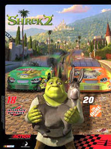 Tony Stewart Bobby Labonte Shrek 2 Commemorative (2004)