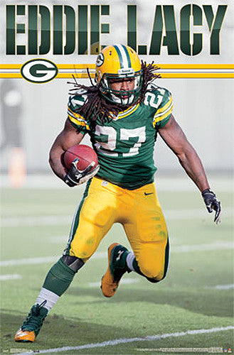 "Eddie Lacy ""Superstar"" Green Bay Packers Official NFL Poster - Costacos 2014"