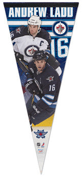 "Andrew Ladd ""Big-Time"" EXTRA-LARGE Premium Felt Pennant - Wincraft Inc."