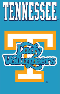 University of Tennessee LADY VOLS Athletics Logo Banner - Party Animal