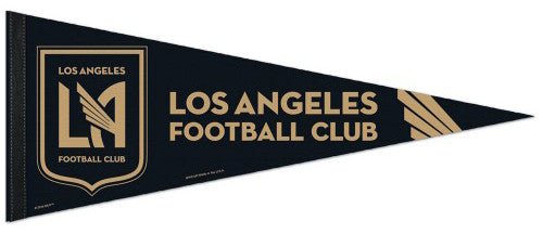 Los Angeles FC LAFC Official MLS Soccer Team Premium Felt Pennant - Wincraft Inc.