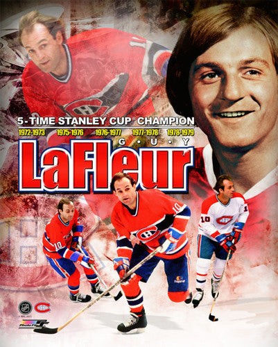 "Guy Lafleur ""Legend"" Montreal Canadiens Career Retrospective Premium Poster Print - Photofile"