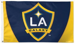 L.A. Galaxy Official MLS Soccer DELUXE 3' x 5' Flag - Wincraft Inc.