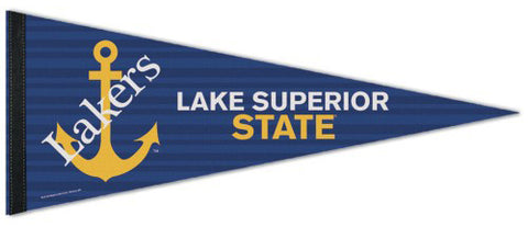 Lake Superior State Lakers Official NCAA Sports Team Logo Premium Felt Pennant - Wincraft Inc.