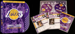 DVD SET: 1985 NBA Finals Lakers vs. Celtics Complete Series (7-Disc Set)