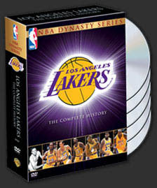 "DVD SET: L.A. Lakers ""Dynasty Series"" Collector's Set - LAST ONE IN STOCK"