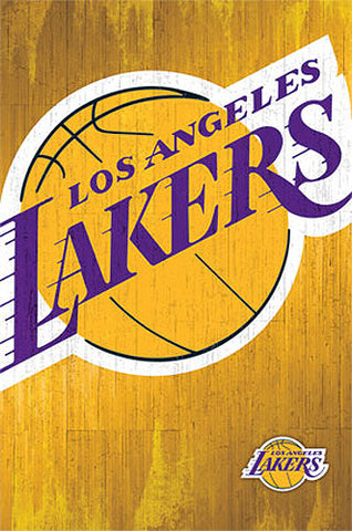 Los Angeles Lakers Official NBA Basketball Team Logo Poster - Trends International