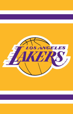 LA Lakers Premium NBA Applique Banner Flag - Party Animal