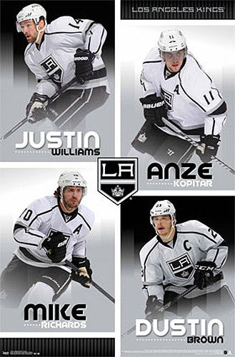 "Los Angeles Kings ""Fearsome Four"" (Williams, Kopitar, Richards, Brown) - Costacos 2013"