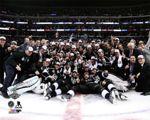 "L.A. Kings Stanley Cup 2014 ""Celebration on Ice"" Commemorative Poster Print - Photofile"
