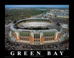 "Green Bay Packers ""New Lambeau Field"" Premium Poster Print - Aerial Views 2004"