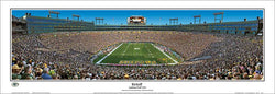 "Lambeau Field ""Kickoff"" Green Bay Packers Stadium Panoramic Poster Print - Everlasting 2015"