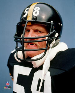 "Jack Lambert ""Game Face"" (SI Cover Shot 7/30/1984) Pittsburgh Steelers Poster Print - Photofile"