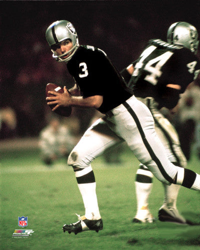 "Daryle Lamonica ""Drop Back"" (c.1969) Oakland Raiders Premium Poster Print - Photofile Inc."