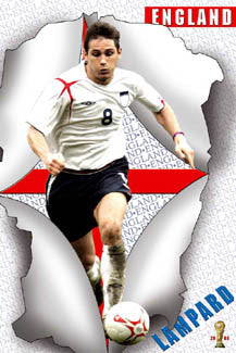 "Frank Lampard ""Breakthrough"" - UK Posters 2006"