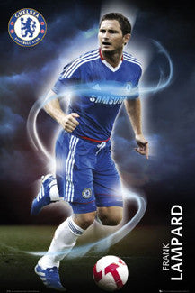 "Frank Lampard ""Cyclone"" Chelsea FC Soccer Poster - GB Eye 2010"