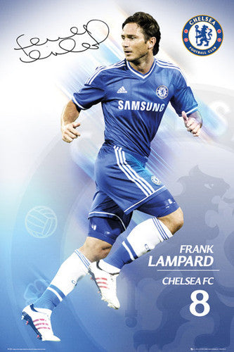"Frank Lampard ""Signature"" Chelsea FC Official Action Poster - GB Eye (UK)"