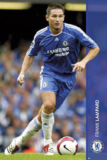 "Frank Lampard ""Action"" Chelsea FC Poster - GB Posters 2006"