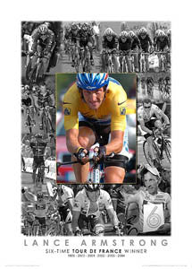 "Lance Armstrong ""Six-Time Winner"" (2004) - Graham Watson"