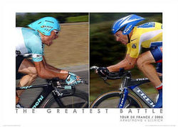 "Lance Armstrong v. Jan Ullrich ""The Greatest Battle"" (2003) - Graham Watson"