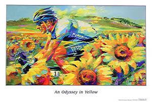 "Lance Armstrong ""Odyssey in Yellow"" (2005) - Malcolm Farley"